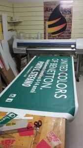 "Banner ""Benetton"""