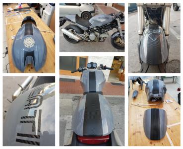 """Personalizzazione moto """"Ducati"""""""
