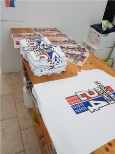 T-shirt rione Pilarella vittoria palio 2017